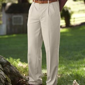 LL BEAN | Double L® Chinos, Classic Fit Pleated 38